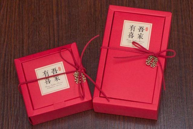订婚喜糖盒