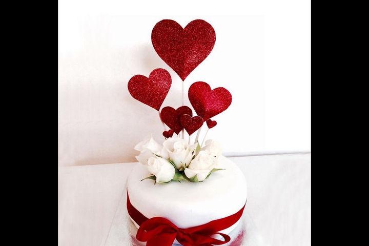 求婚蛋糕图片大全