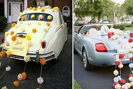 婚车装饰气球