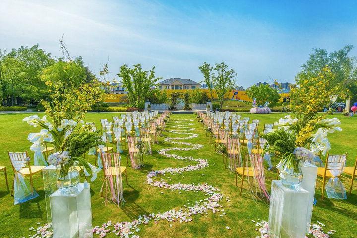 春季婚礼主题