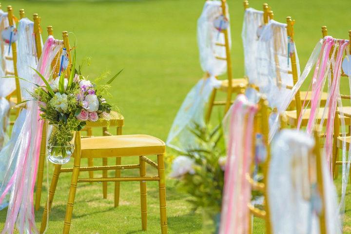 春季婚礼布置