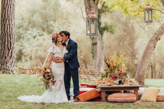 秋季婚礼主题