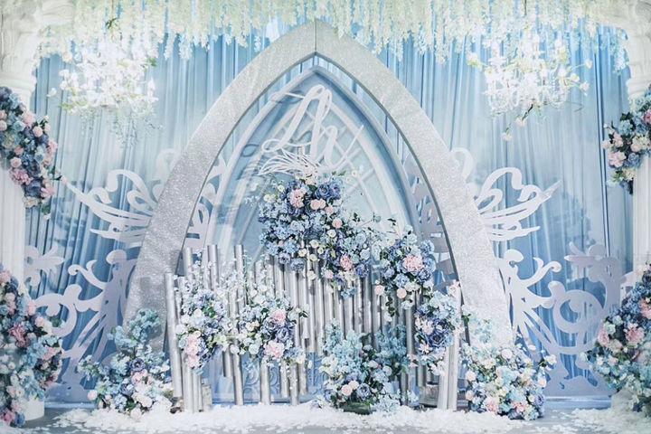 韩式婚礼现场布置