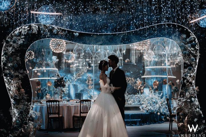 婚礼开场灯光秀