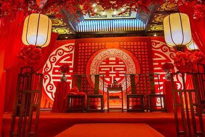 中式婚礼唯美句子