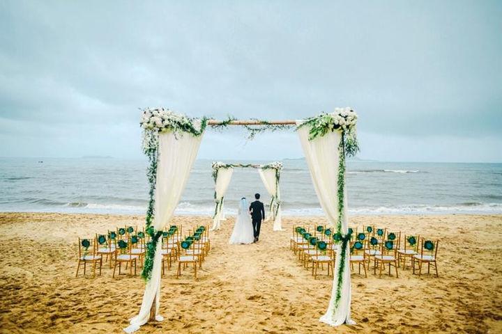 三亚沙滩婚礼