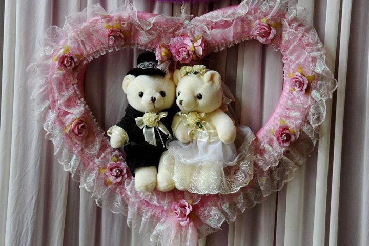 集体婚礼主题