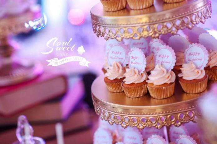 婚礼甜品桌