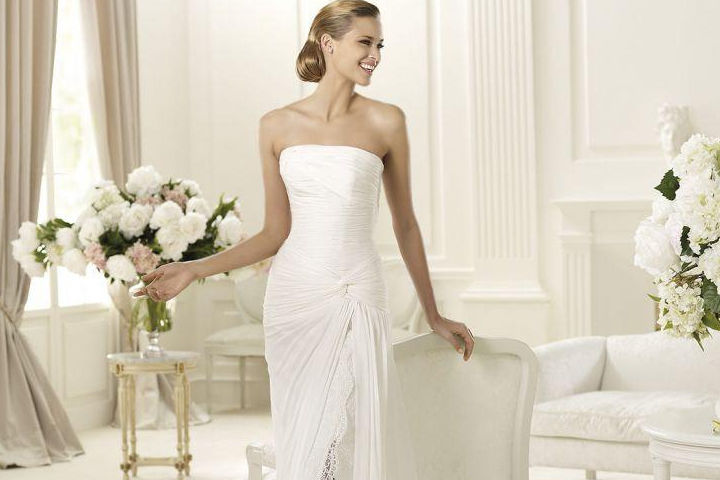 十大婚纱款式分类解析