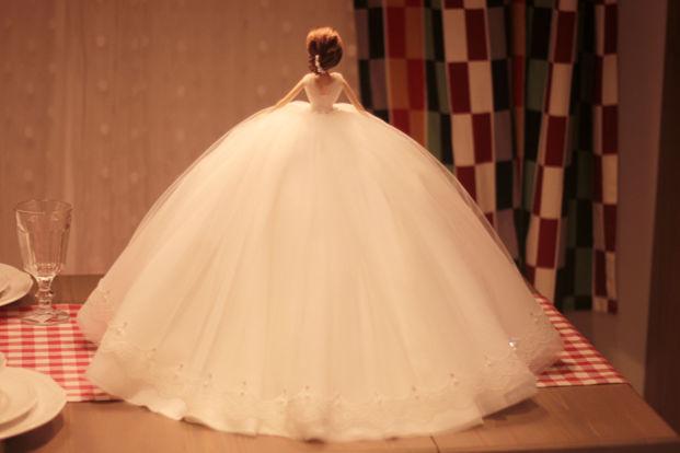 孕妇婚纱款式
