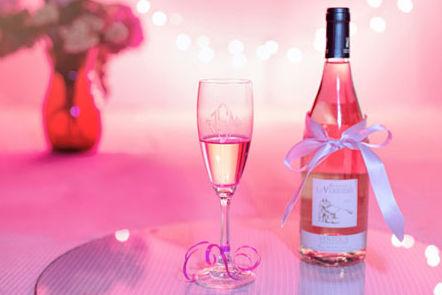 粉色香槟色主题婚礼