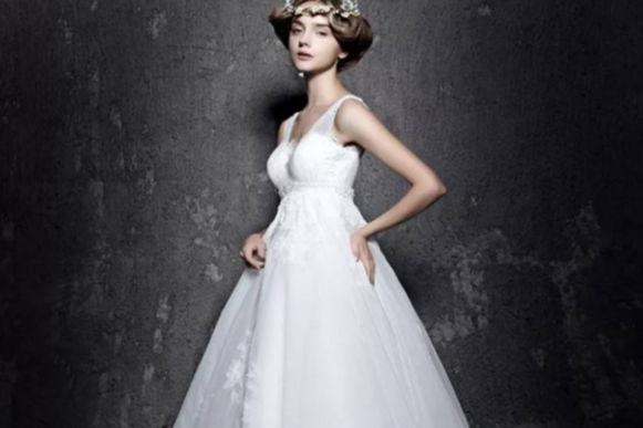 怀孕新娘婚纱照图片大全