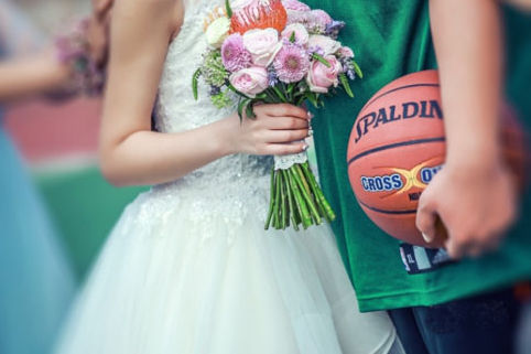 篮球主题婚礼
