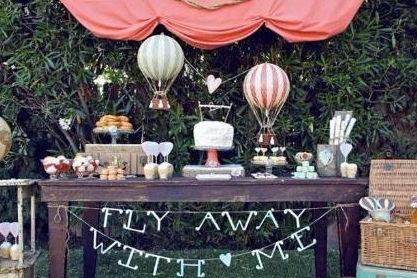 热气球主题婚礼
