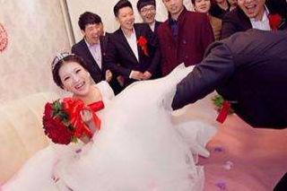 结婚堵门问题大全