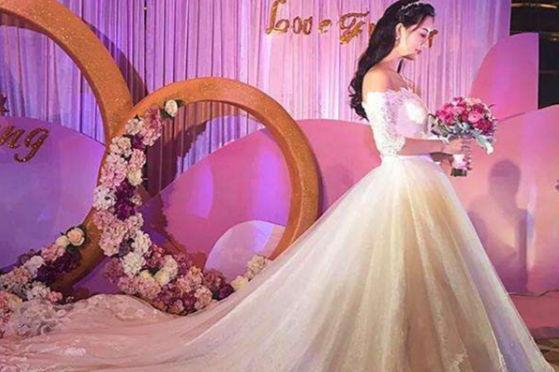 新娘发长造型图解