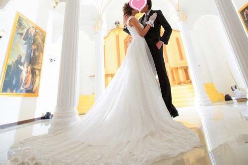 立体婚纱照