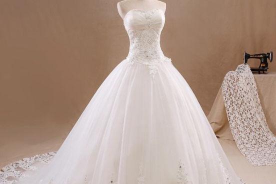 矮个子新娘婚纱礼服款式