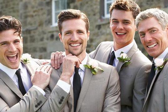 男生参加婚礼发型