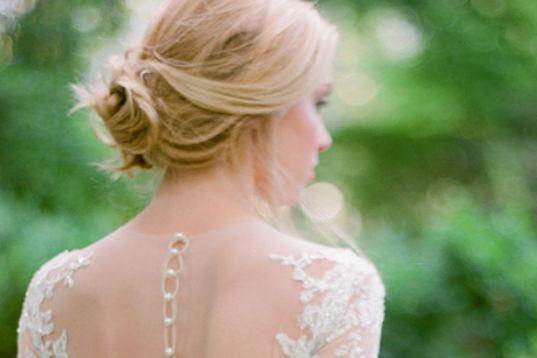 简单新娘发型