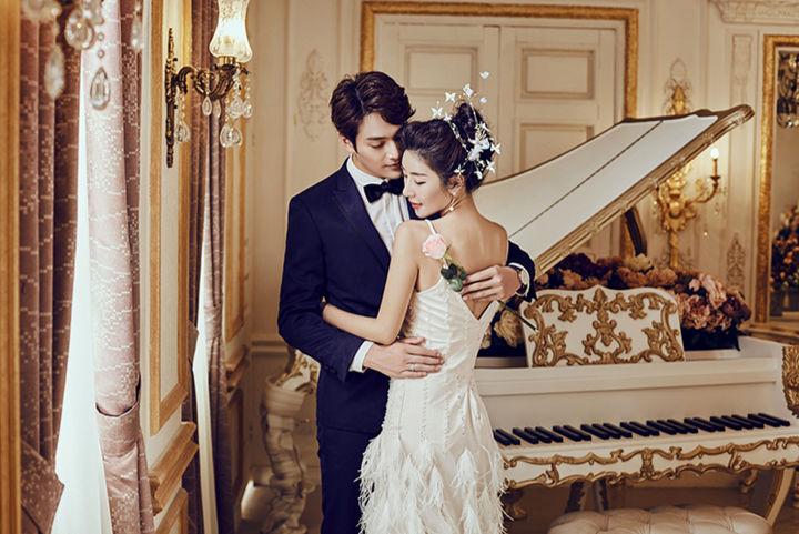 欧式复古婚纱照风格