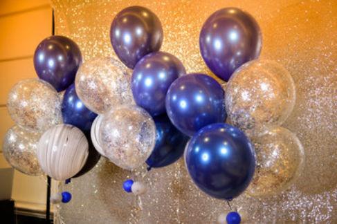90后婚房气球用品布置图片大全