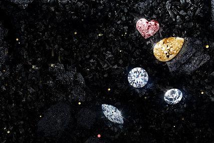 钻石颜色等级表