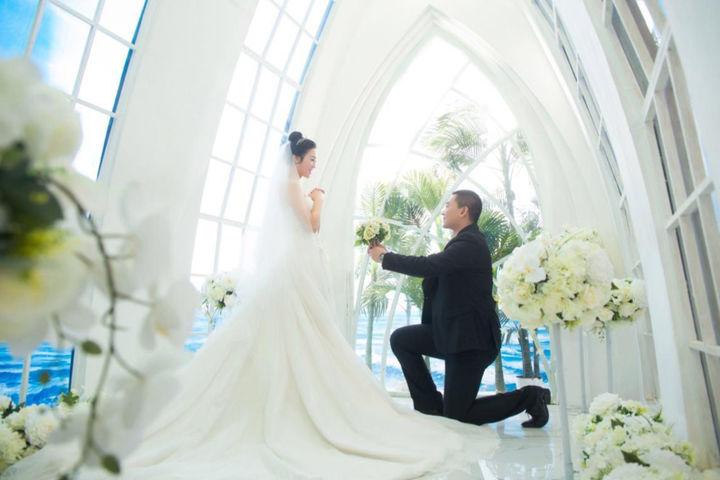 结婚典礼新郎对新娘说的话