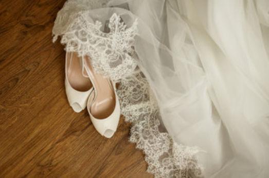 新娘礼服婚鞋搭配最新潮流