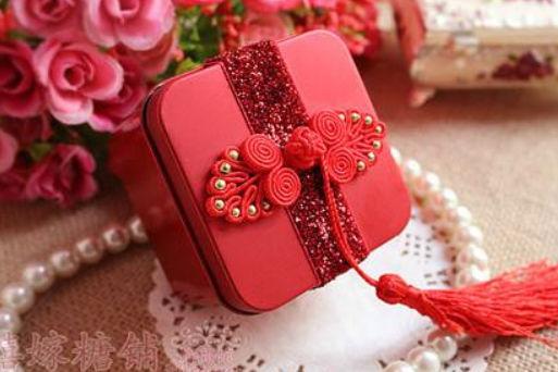 中式喜糖盒