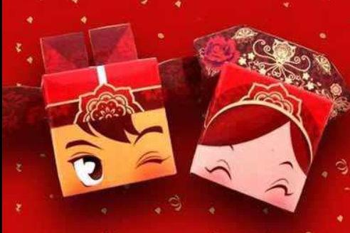 结婚的喜糖盒怎么装