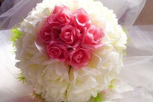 最新新娘手捧花图片