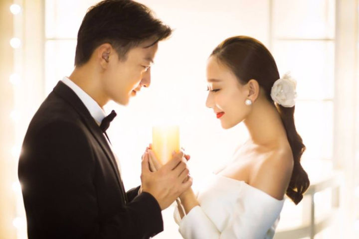 新婚祝福语八字押韵