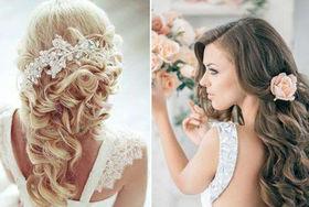 新娘长发发型