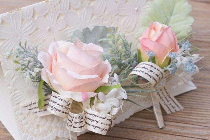 新娘胸花制作