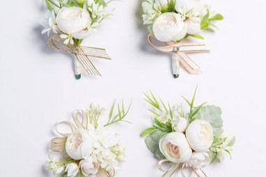 .新娘的胸花什么时候带