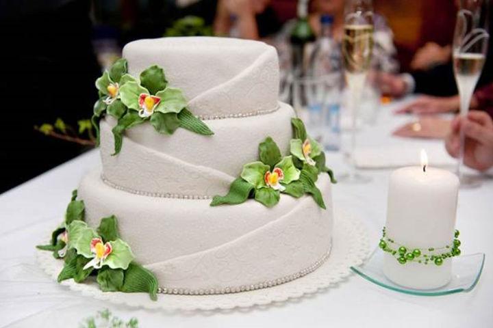 婚礼多层蛋糕