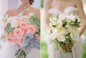 新娘手捧花图片