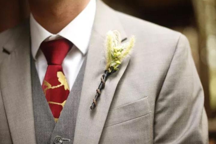 新郎结婚礼服