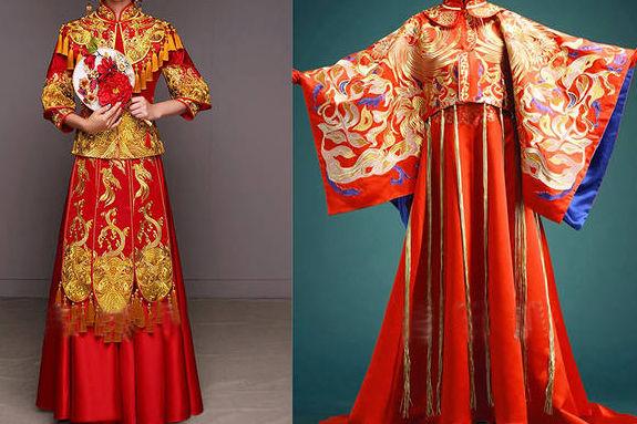 龙凤褂和秀禾服的区别
