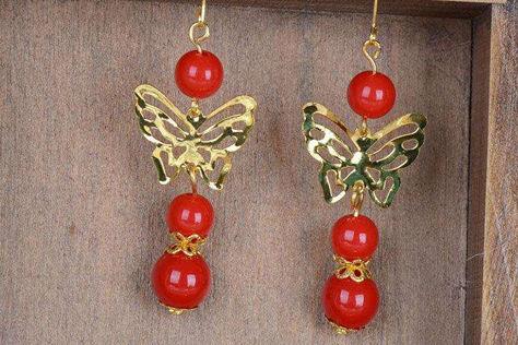 古代新娘耳环