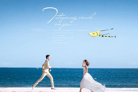 海边婚纱照风格