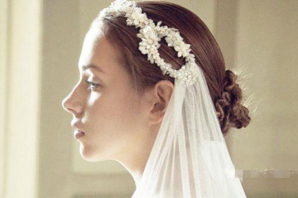 新娘敬酒发型图片
