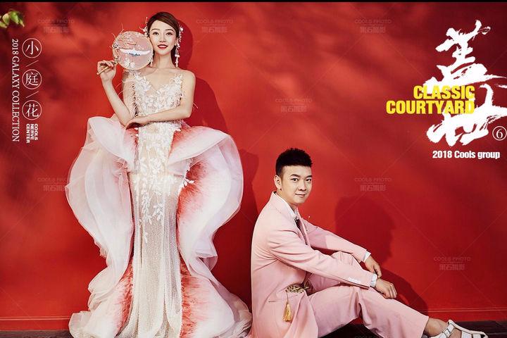 中式复古婚纱照风格
