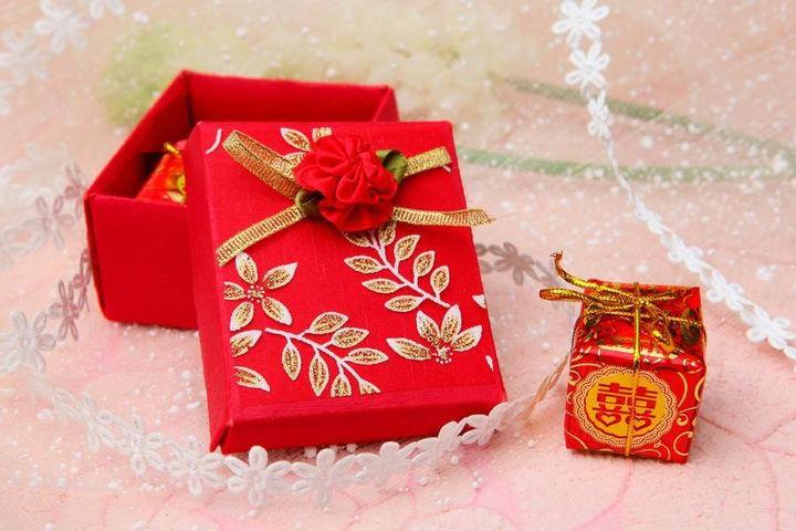 结婚喜糖盒