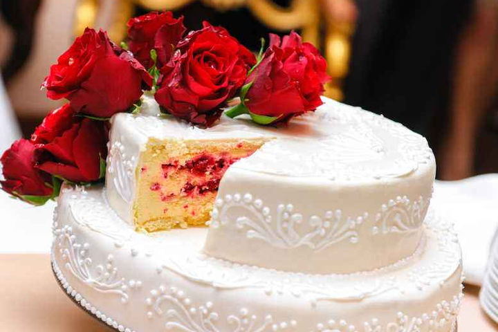 婚礼蛋糕创意装饰品布置