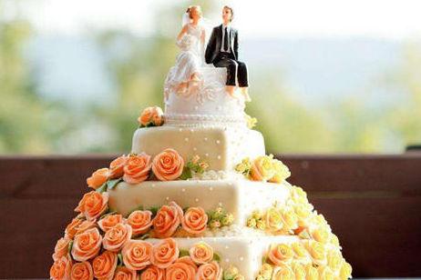 中国风婚礼蛋糕