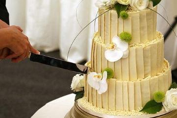 结婚蛋糕的切法讲究