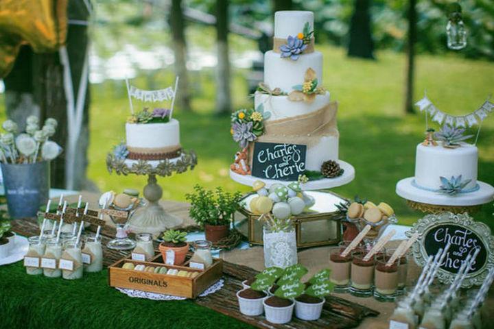 多层结婚蛋糕制作