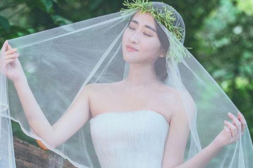 气质新娘发型
